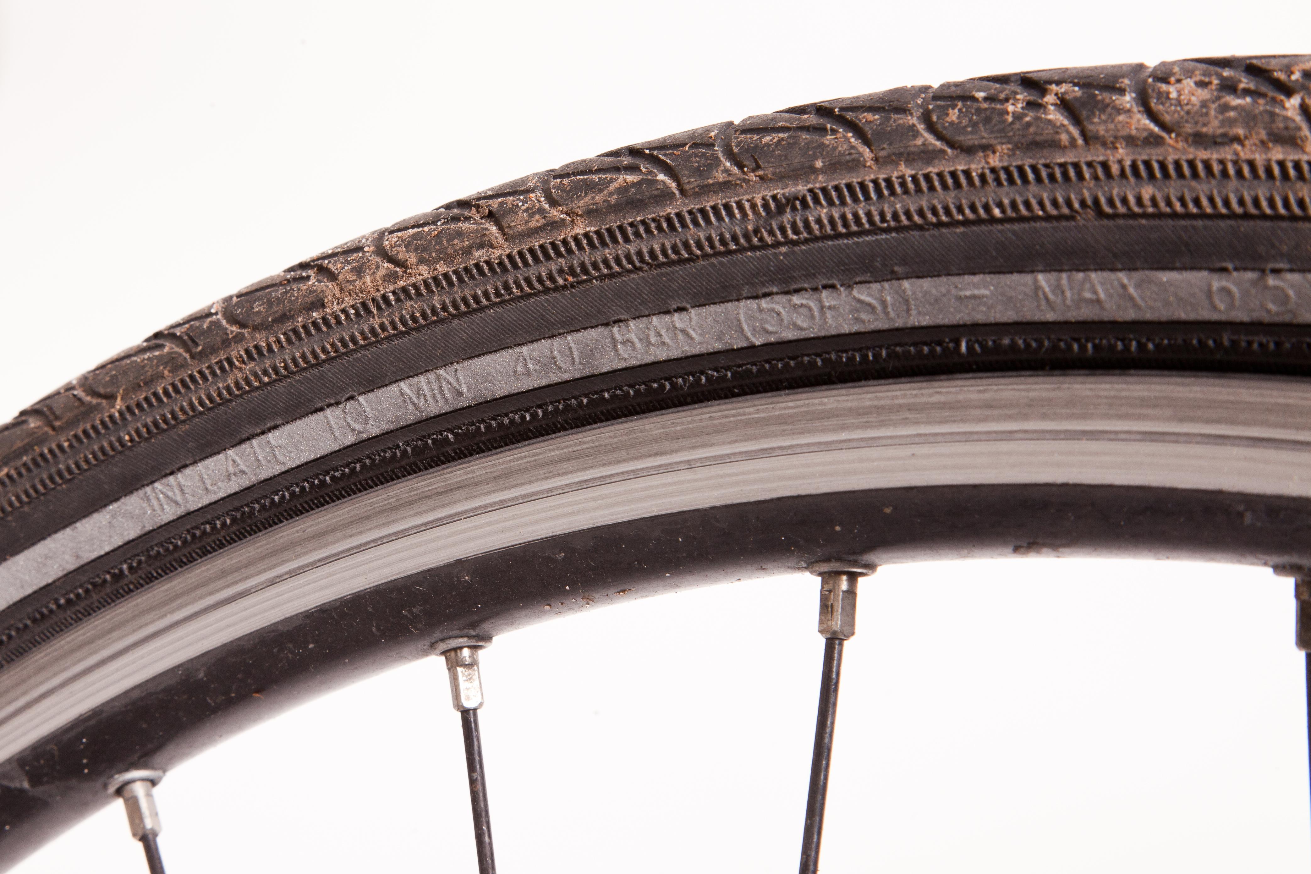 Auch beim Fahrrad ist der richtige Reifendruck wichtig