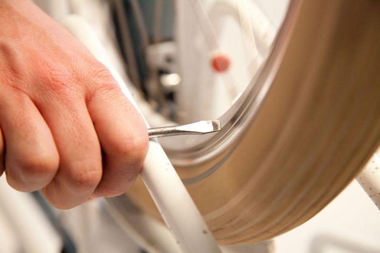 Biker: Reifen richtig wechseln